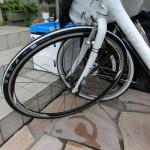 ESCAPE R3での自転車通勤2 タイヤ交換(28Cから25Cへ)