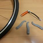 自転車コラム1 (サイクルベースあさひさんでのパンク修理講座)