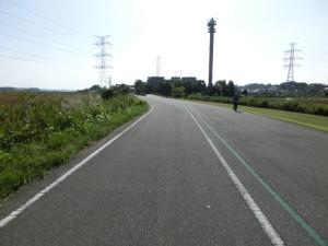 手賀沼自転車道 手賀沼サイクリングロード 道幅