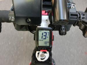 江戸川サイクリングロード 気温