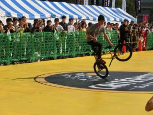 2014ツールドフランス サイクルフェスタ クリテリウム BMXショー