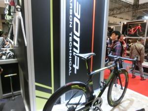 サイクルモード2014 BOMA ロードバイク 試乗