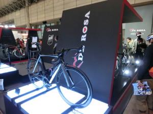サイクルモード2014 DEROSA ロードバイク 試乗