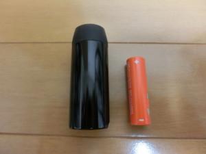 ギザプロダクツ ライト CG-123P 大きさ比較