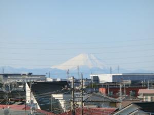 2015年 江戸川サイクリングロード 富士山
