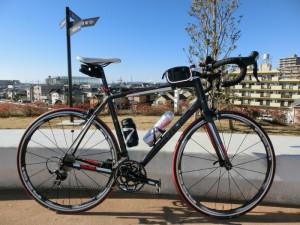 2015年 初ライド マドン2.3 江戸川サイクリングロード