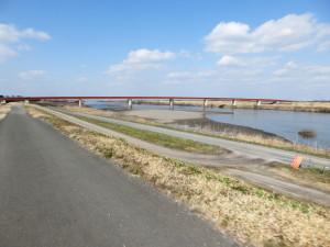 利根川サイクリングロード サイクリング
