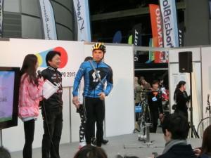 埼玉サイクルエキスポ2015 ステージイベント