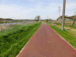新川サイクリングロード 道の駅
