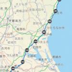 東京~福島県(いわき)ライド ※走行篇(帰り)、今後の課題