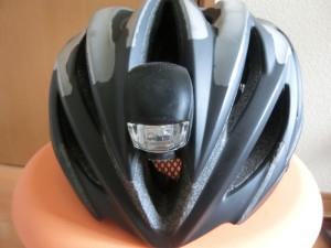 自転車 ヘルメット フロントライト
