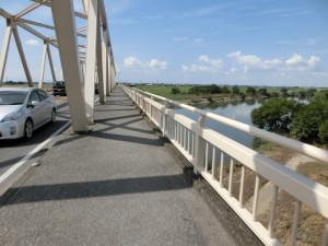 三国橋 渡良瀬川