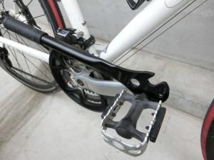 クロスバイク ペダル交換