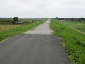 利根川サイクリングロード 行き止まり