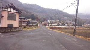 不動峠 入口