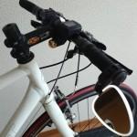 自転車通勤用のクロスバイクを少しカスタムしてみた