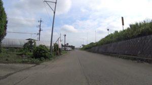 国道新4号 側道