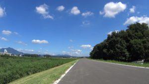 小貝川サイクリングロード 夏