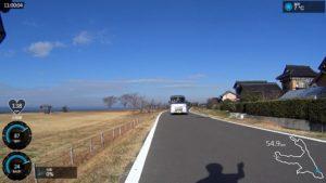 霞ヶ浦 サイクリングロード 車