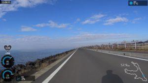 霞ヶ浦サイクリングロード 路面