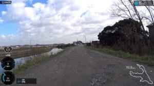 霞ヶ浦自転車道 じゃり