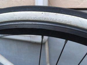自転車 タイヤ 空気圧