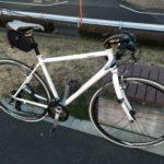 通勤用クロスバイクのタイヤを23Cから25Cへ、空気圧も見直してみる