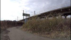 恋瀬川サイクリングロード 常磐線