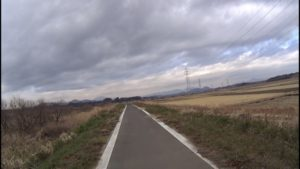 恋瀬川サイクリングロード 道幅
