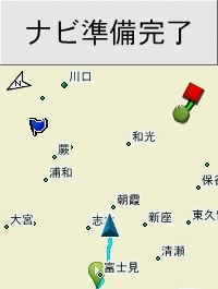 Edge520J 地図