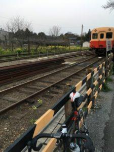 ブルべ 里見駅 小湊鉄道