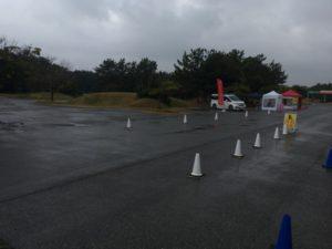 雨 ロードレース
