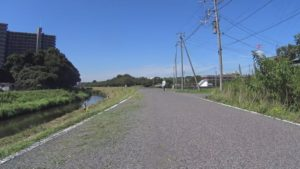 大堀川 自転車 遊歩道