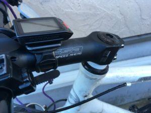 クロスバイク ステム交換 ポジション