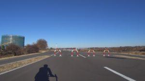 江戸川サイクリングロード 柵