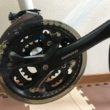 クロスバイク クランク交換 FC-M361