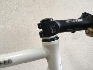 クロスバイク ステム 高さ調整