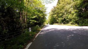 湯ノ岳 上り 自転車
