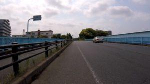 国道14号 花見川 ロードバイク