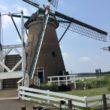 印旛沼自転車道 印旛沼サイクリングロード 風車