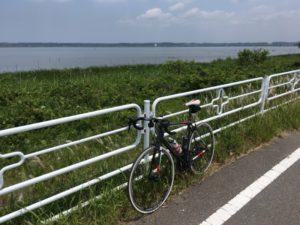 印旛沼 北沼 ロードバイク