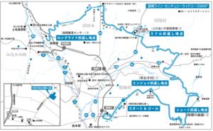 コース 望郷ライン・センチュリーライド2018
