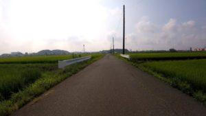千葉県 田園風景 自転車