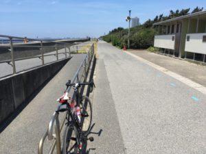 稲毛海浜公園 サイクリングロード
