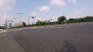 皇居 都内 サイクリング