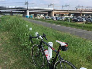 多摩川サイクリングロード  二子玉川