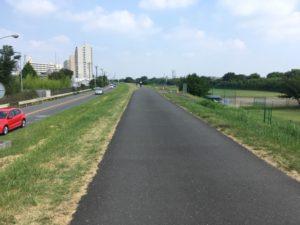 多摩川サイクリングロード 右岸