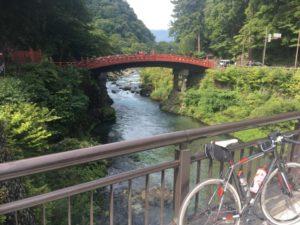 神橋 日光 自転車