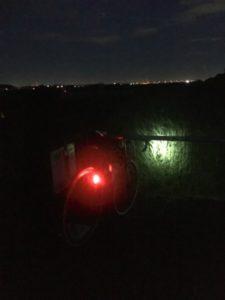 ロングライド 夜間