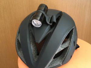 ブルべ ヘルメットライト レザイン